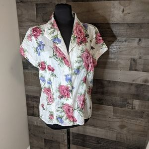 Context Woman Button Down 1x